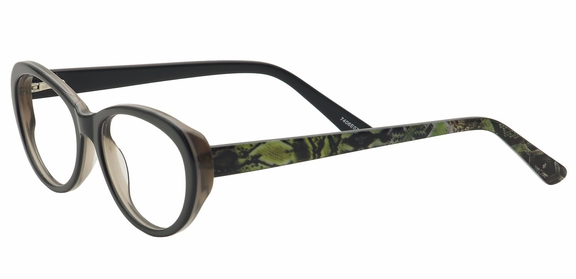 Asta Cat-Eye Reading Glasses - Black