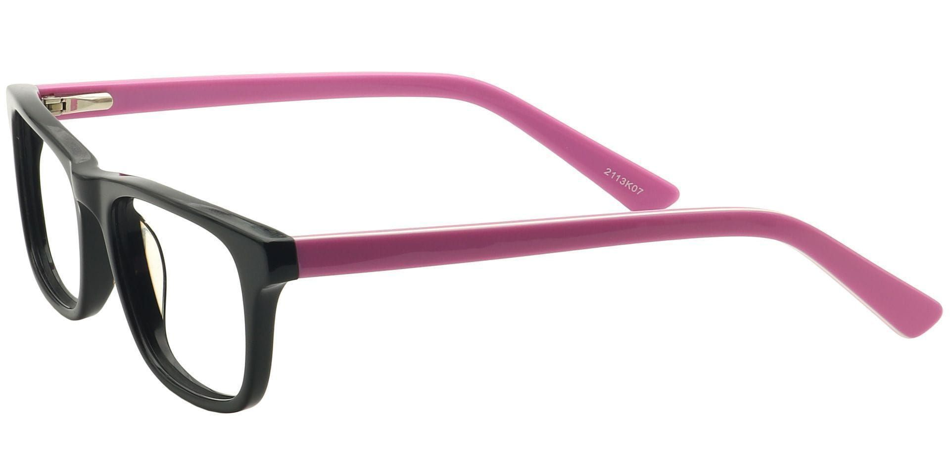 Blair Rectangle Prescription Glasses - Black