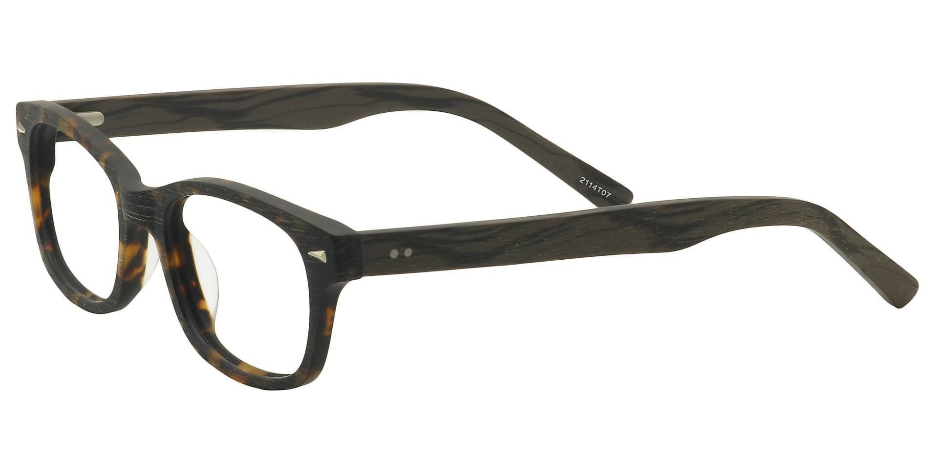 Timbre Rectangle Eyeglasses Frame - Tortoise