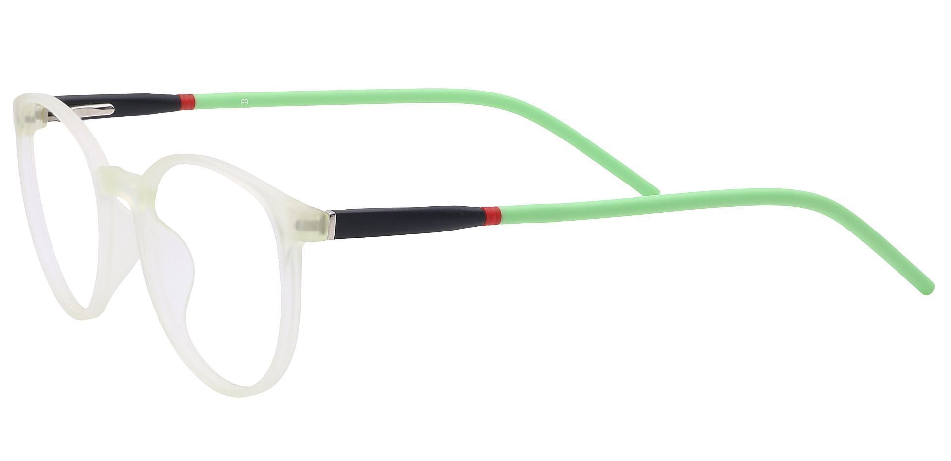 Vivi Round Prescription Glasses - Green