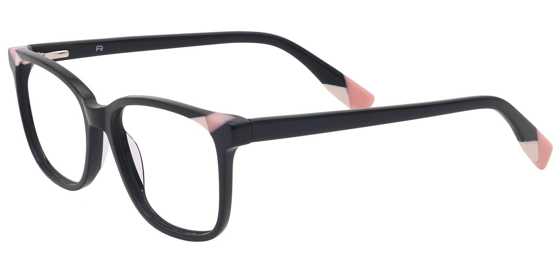 Odessa Square Prescription Glasses - Pink