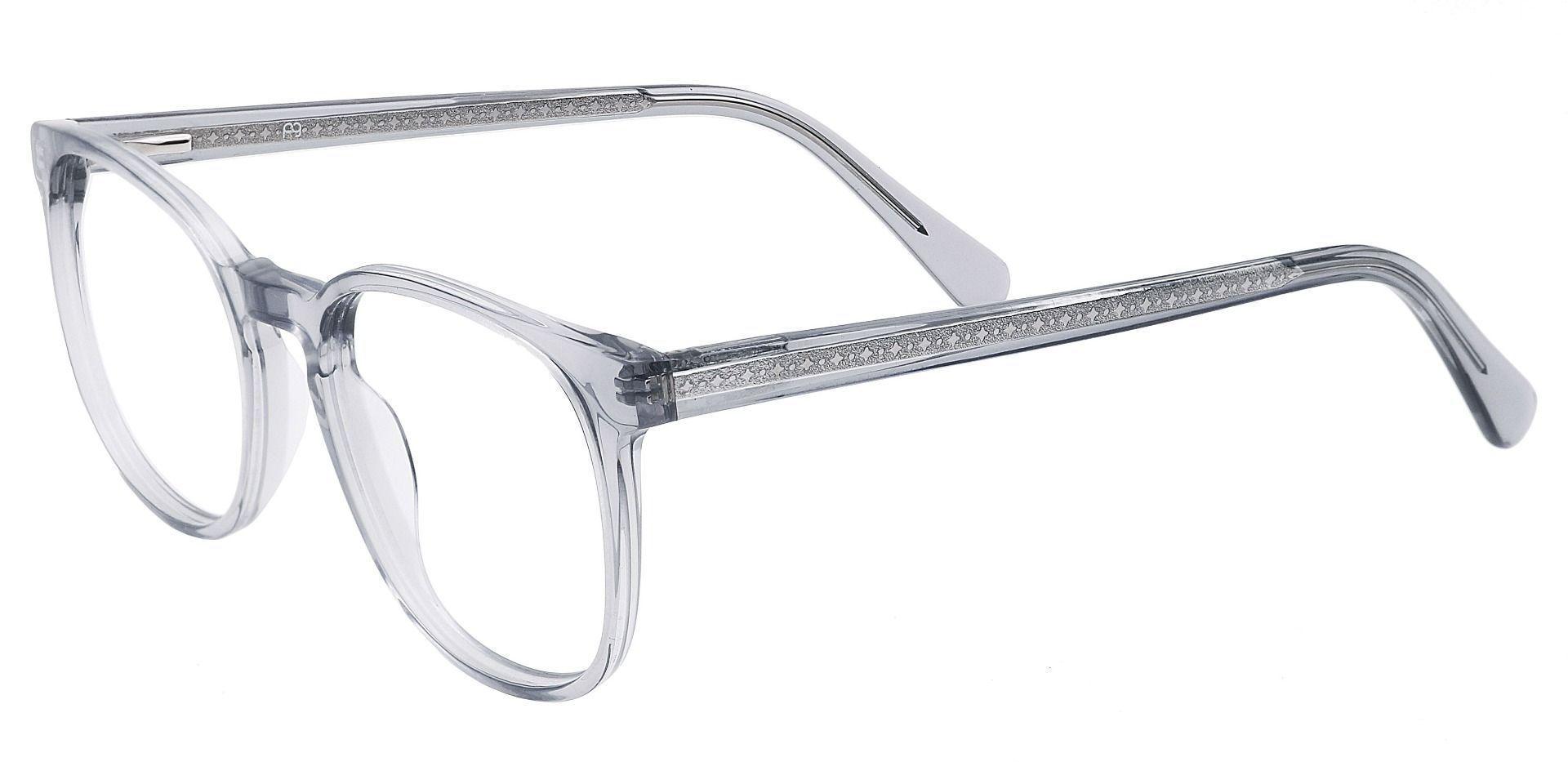 Nebula Round Prescription Glasses - Gray