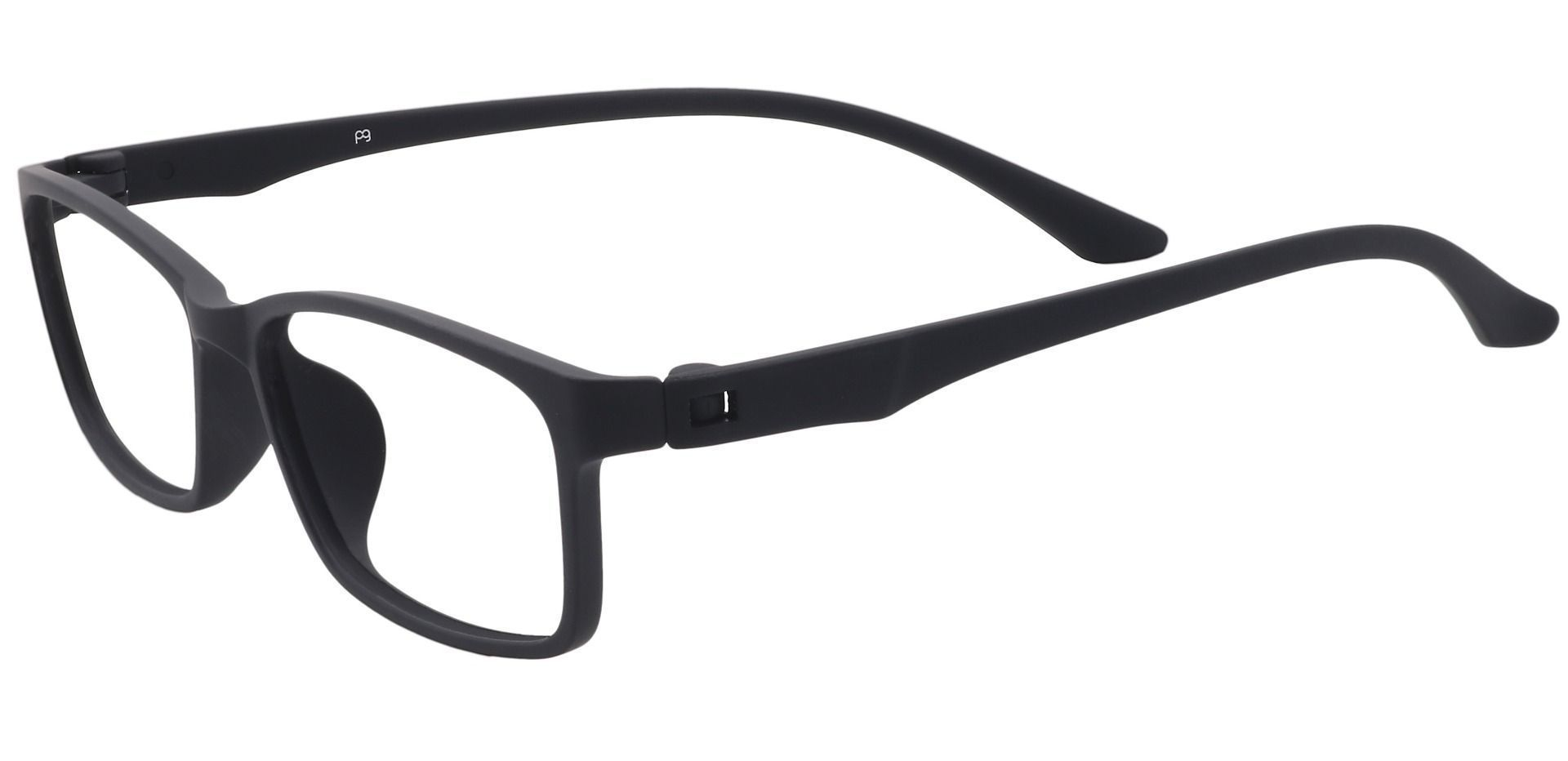 Wichita Rectangle Eyeglasses Frame -  Matte Black
