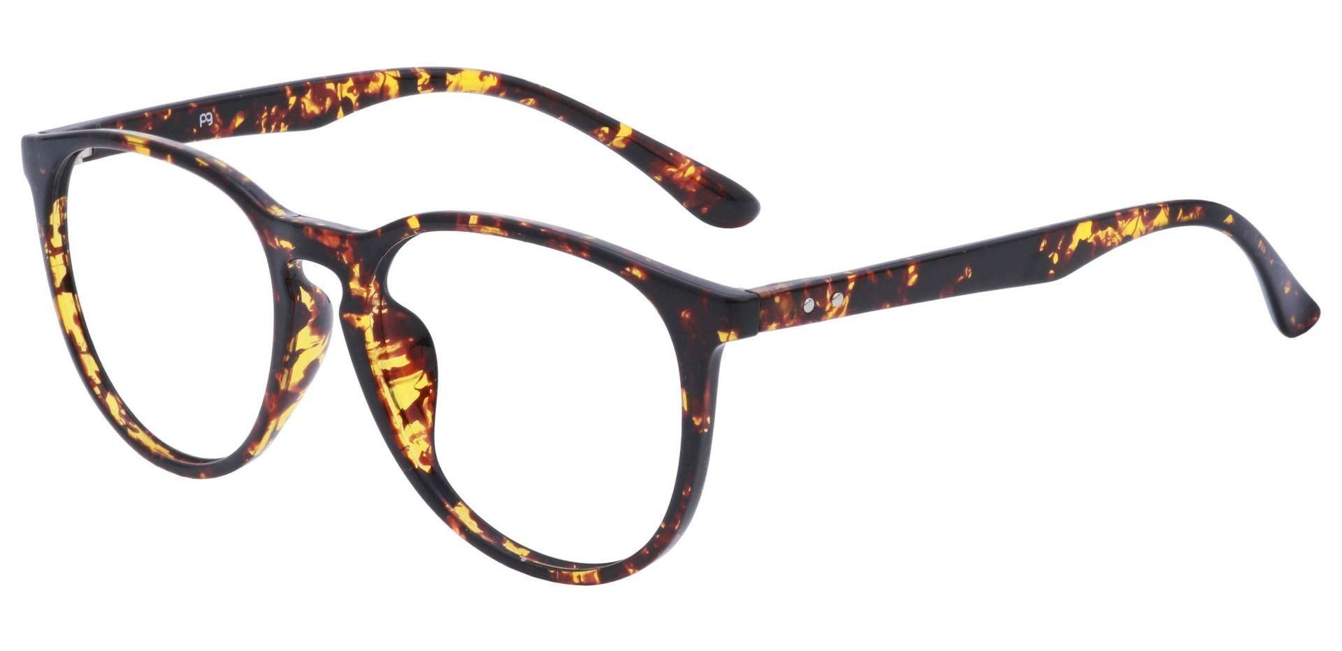 Maple Oversized Oval Lined Bifocal Glasses - Tortoiseshell