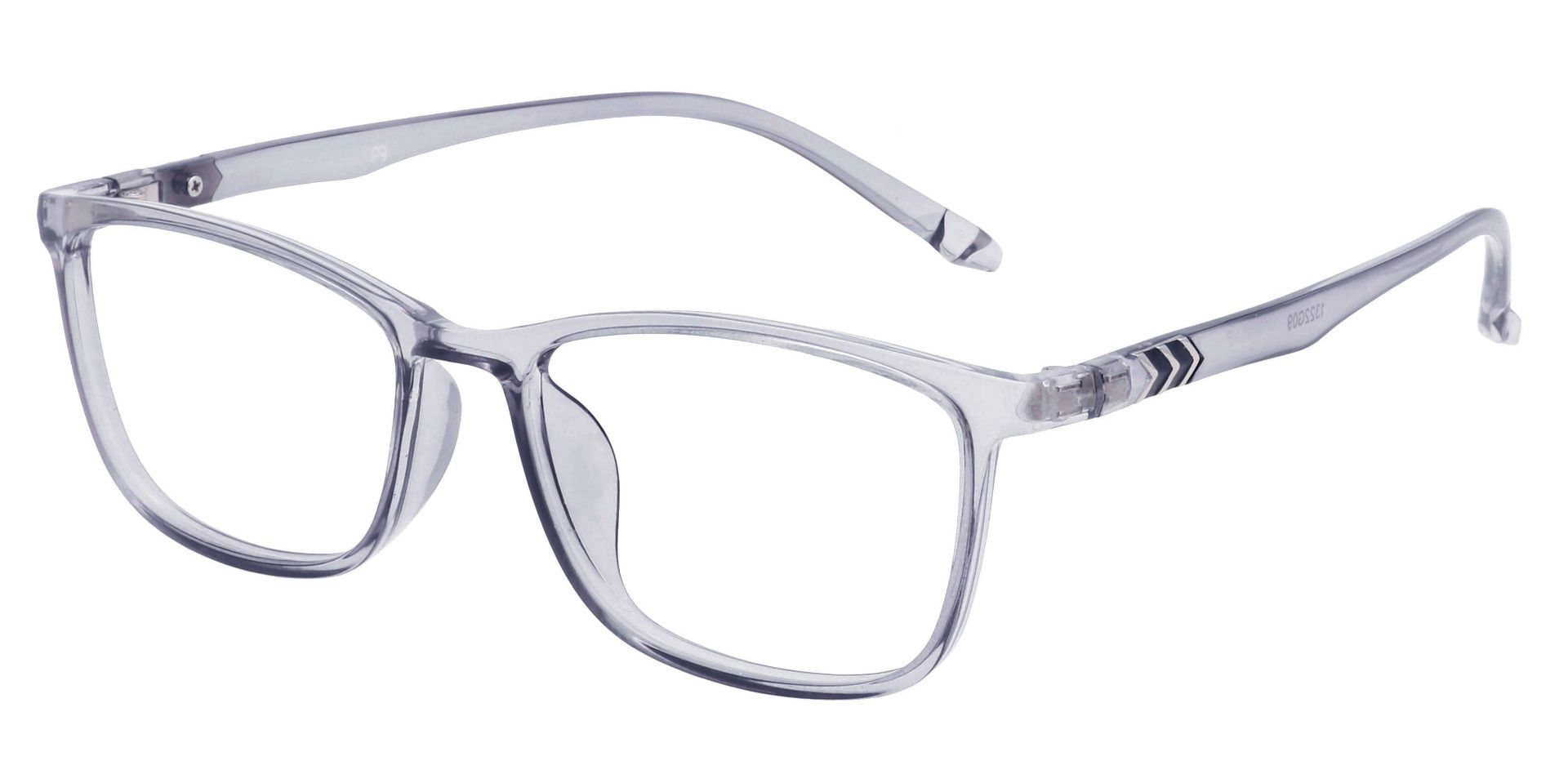 Harvest Rectangle Prescription Glasses - Gray