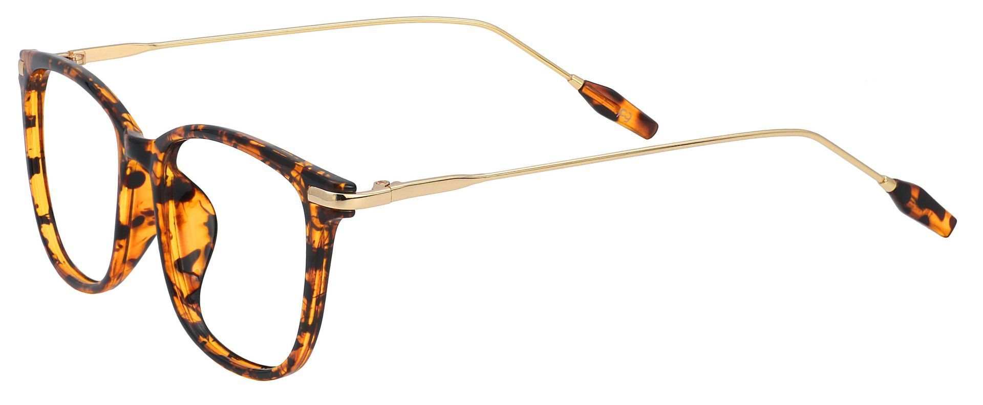 Katie Oval Progressive Glasses - Tortoise