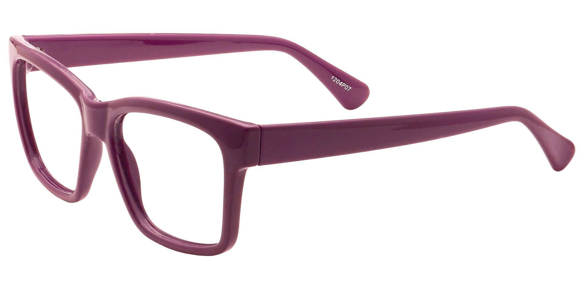 Brinley Square Lined Bifocal Glasses - Purple