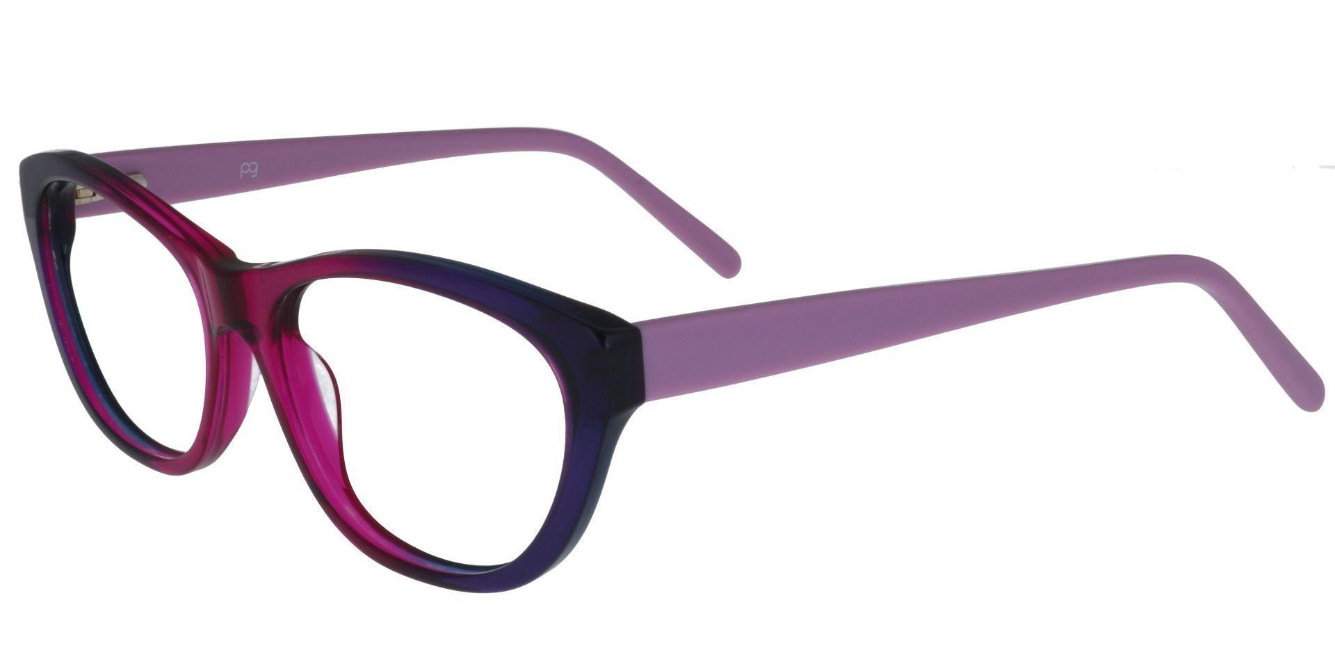 Prue Cat Eye Prescription Glasses - Purple