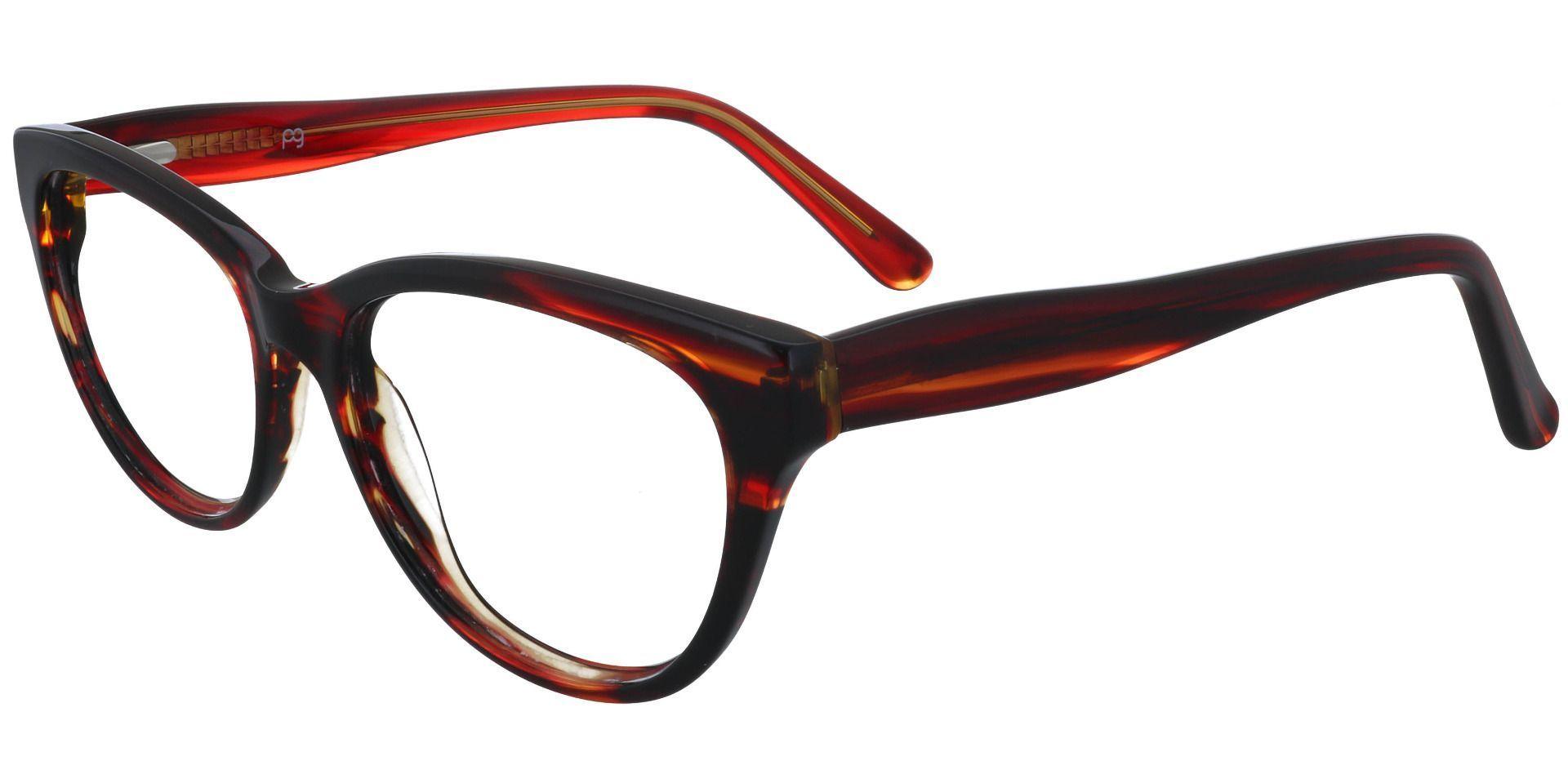 Brook Cat Eye Prescription Glasses - Striped