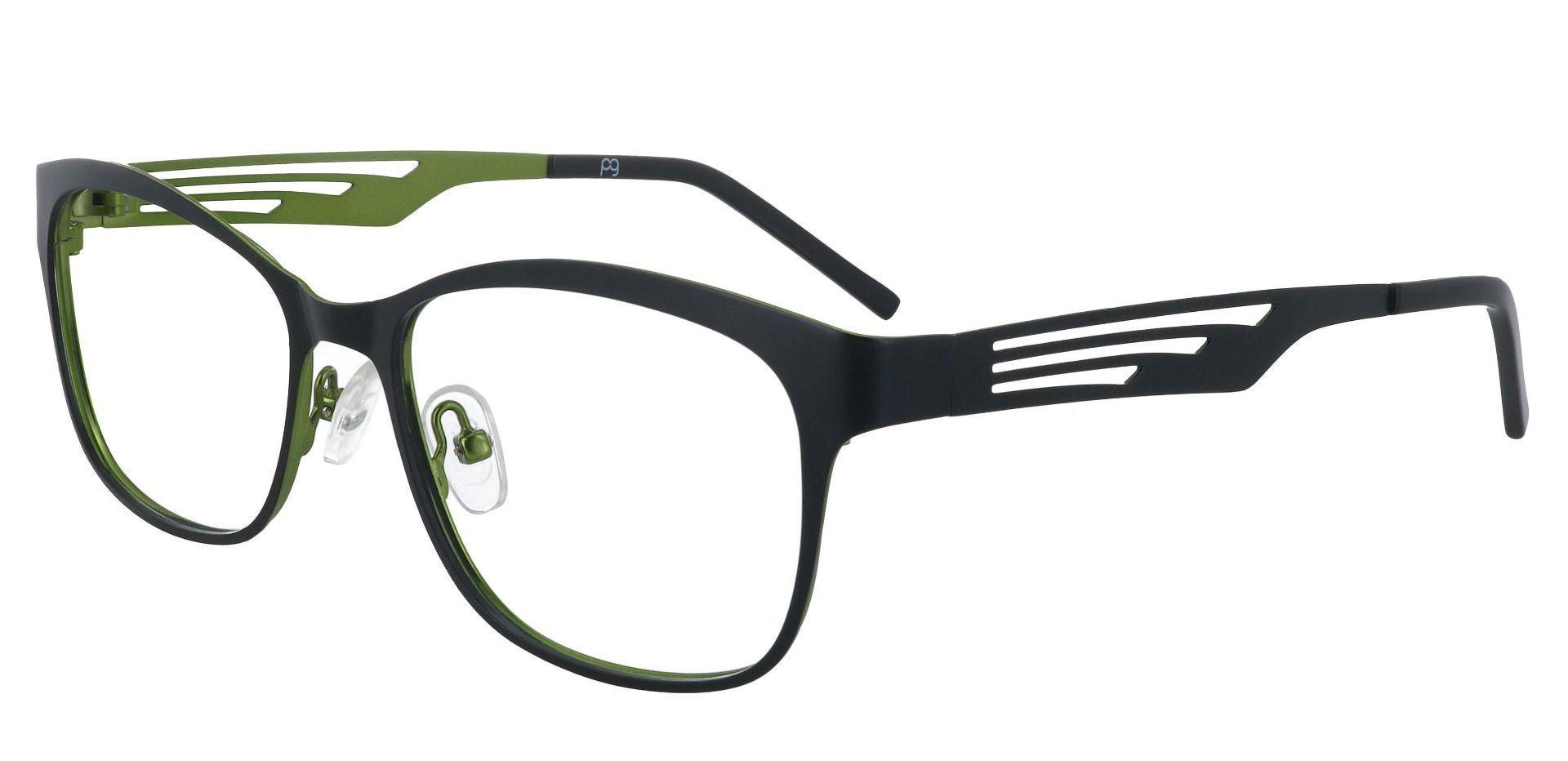 Farrow Rectangle Prescription Glasses - Black