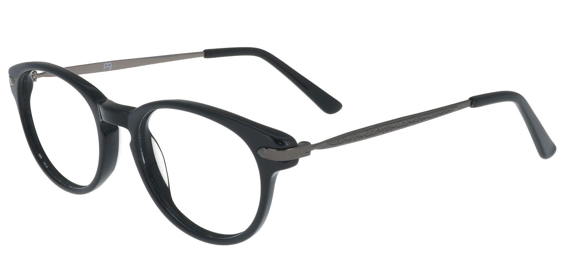 Trudy Oval Prescription Glasses - Black