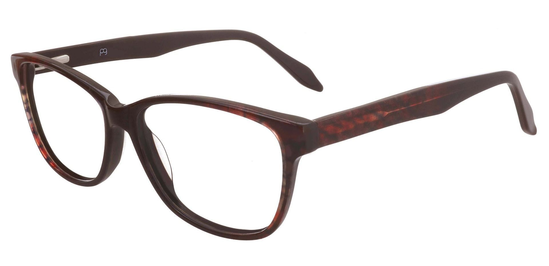 Bartlett Oval Prescription Glasses - Brown
