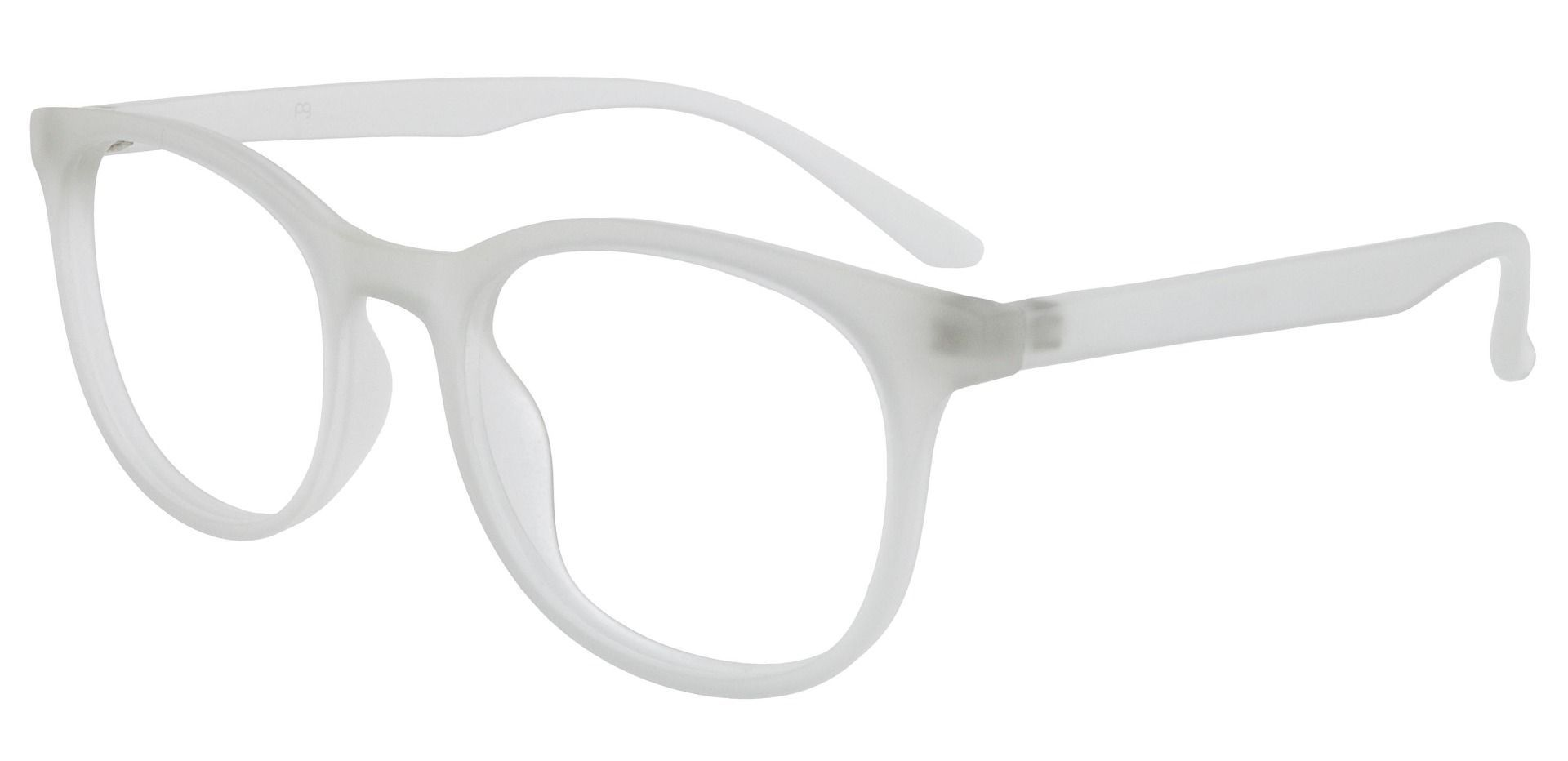 Pelham Oval Prescription Glasses - Clear