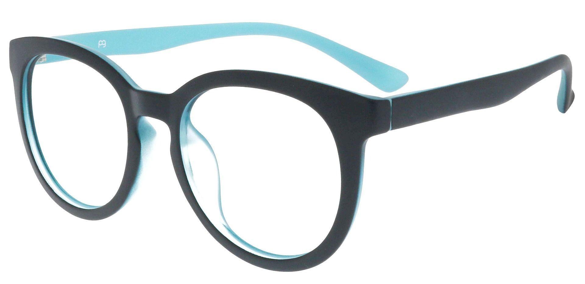 Dudley Oval Prescription Glasses - Black