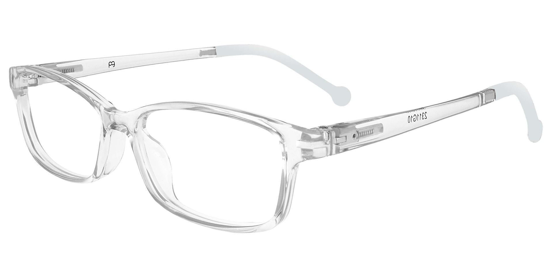 Otis Rectangle Single Vision Glasses - Gray