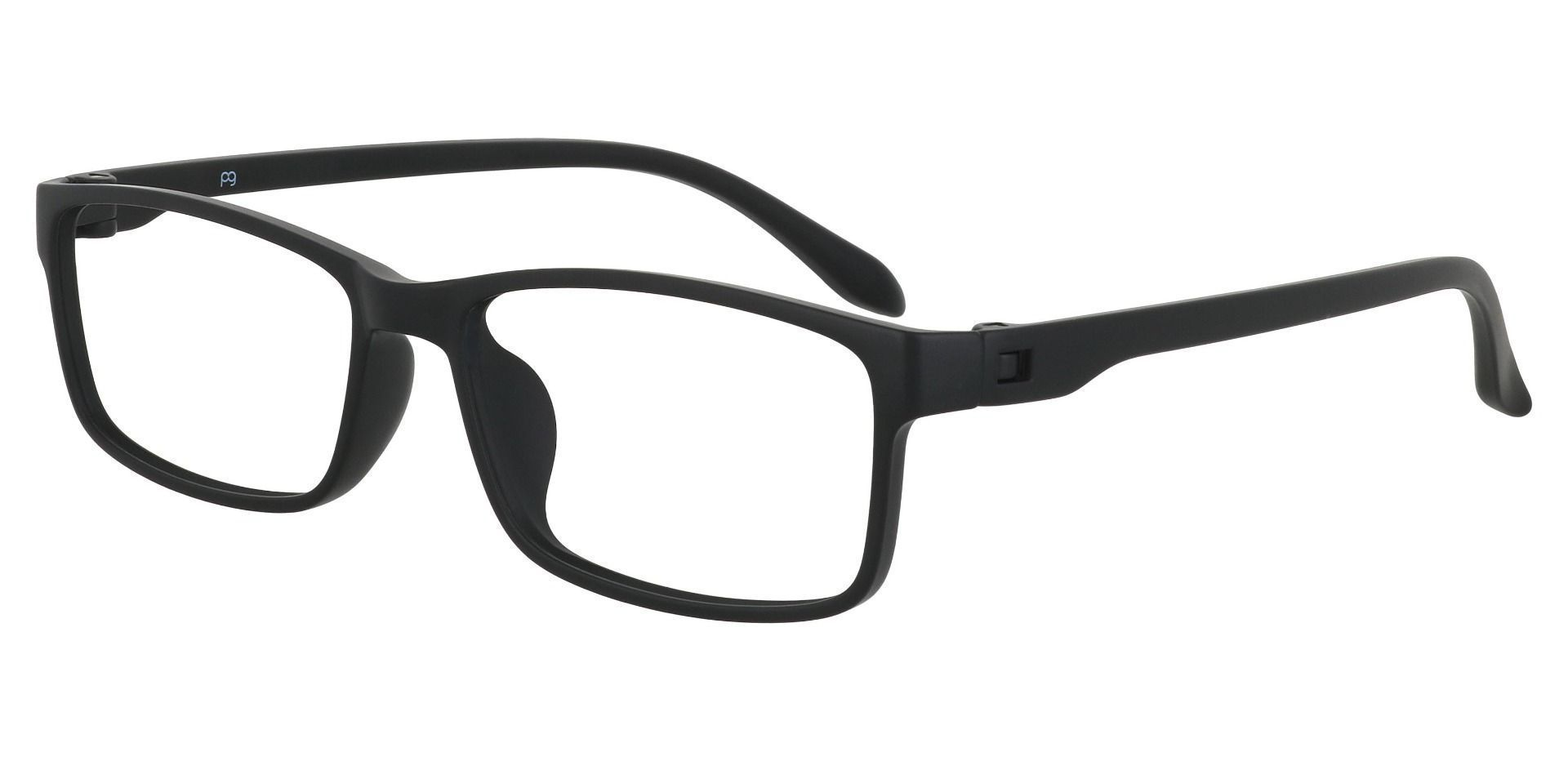 Candice Rectangle Prescription Glasses - Black