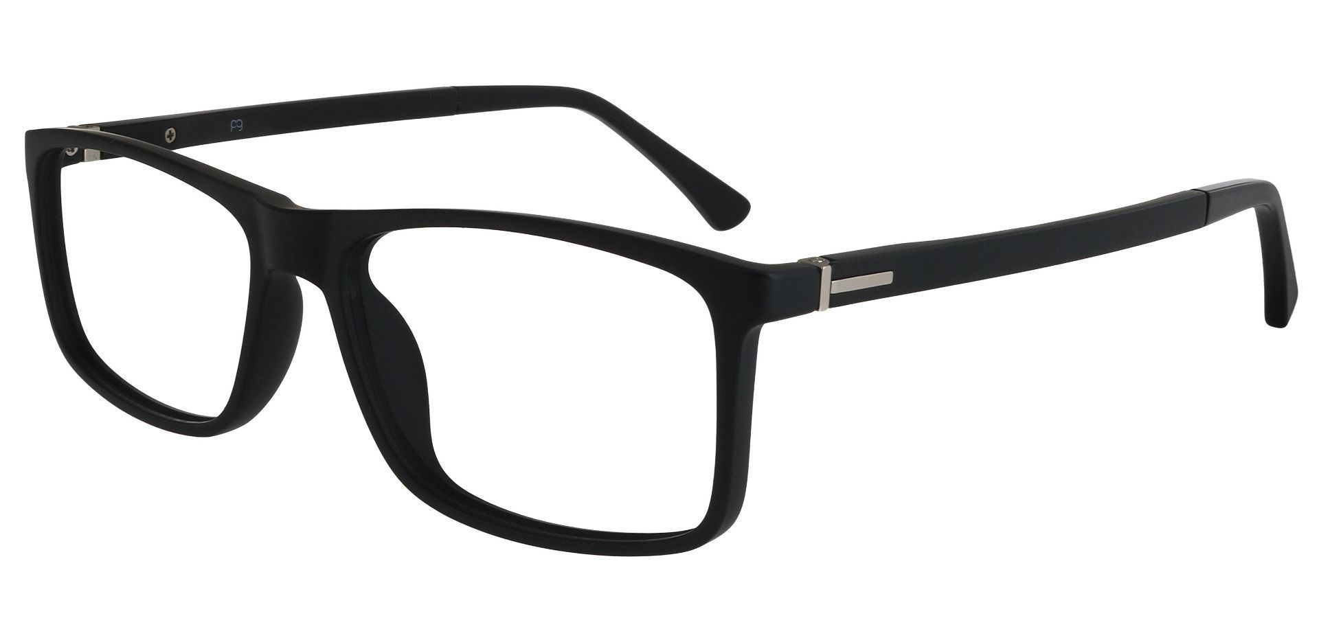 Montana Rectangle Prescription Glasses - Matte Black