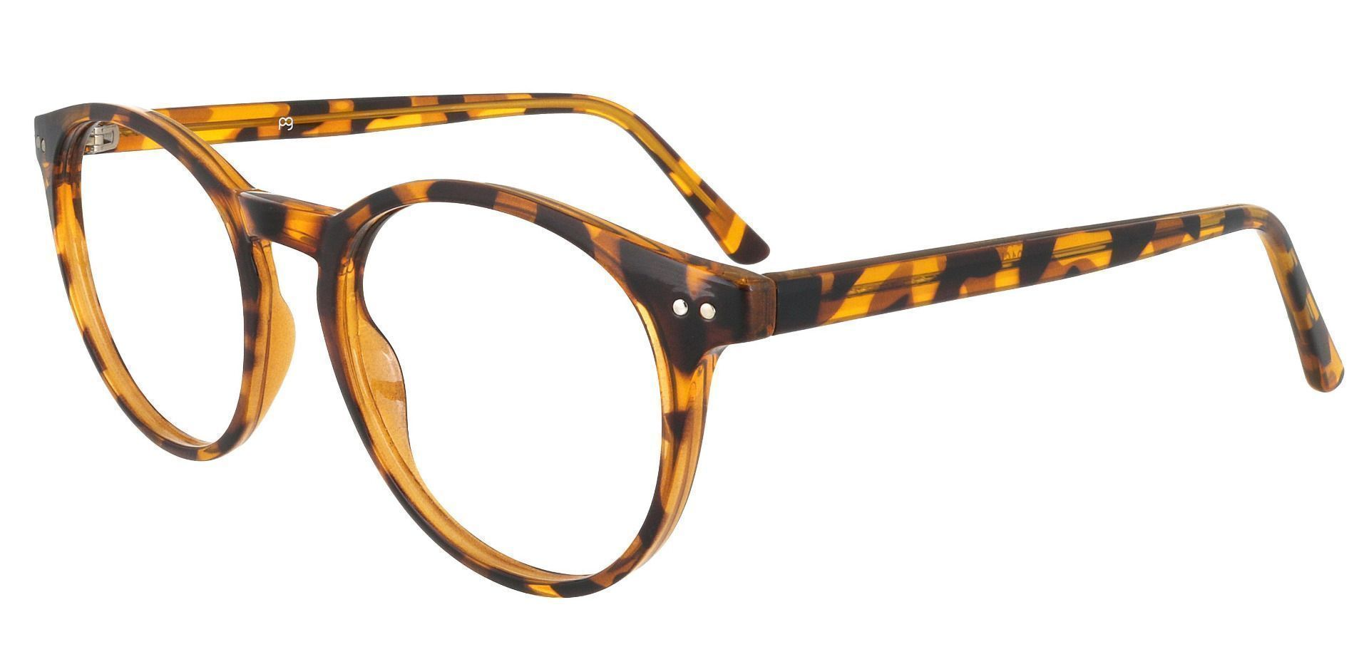 Dormont Round Prescription Glasses - Tortoise