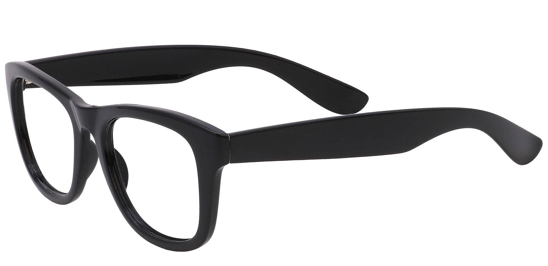 Tyre Square Eyeglasses Frame - Black