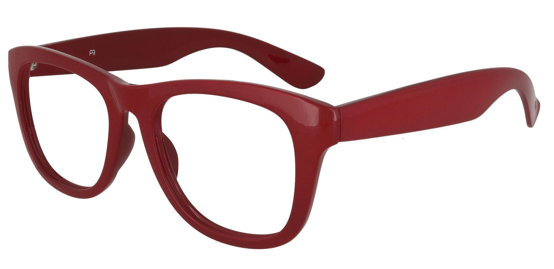 Callie Square Reading Glasses - Red