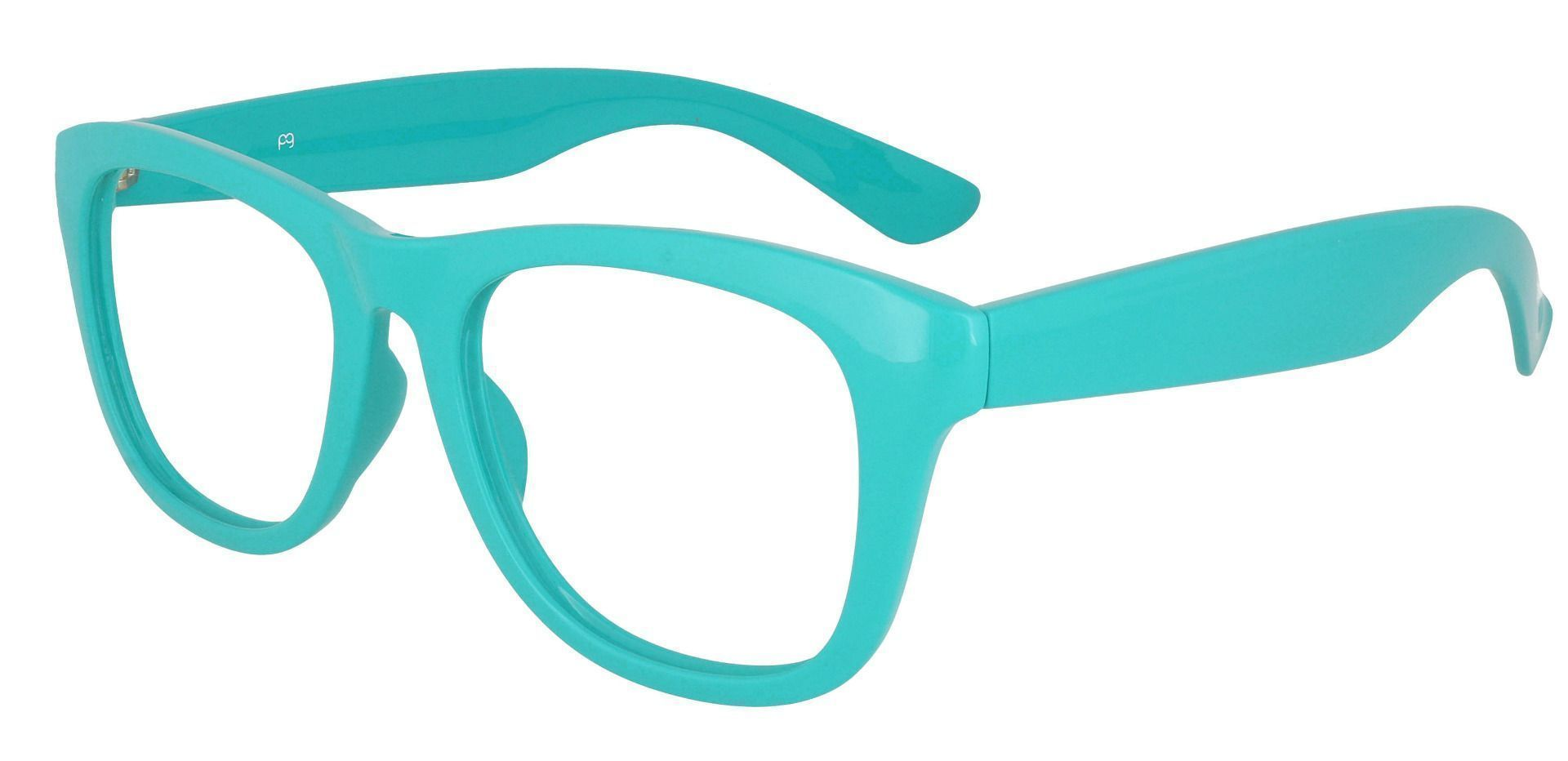 Tyre Square Lined Bifocal Glasses - Blue