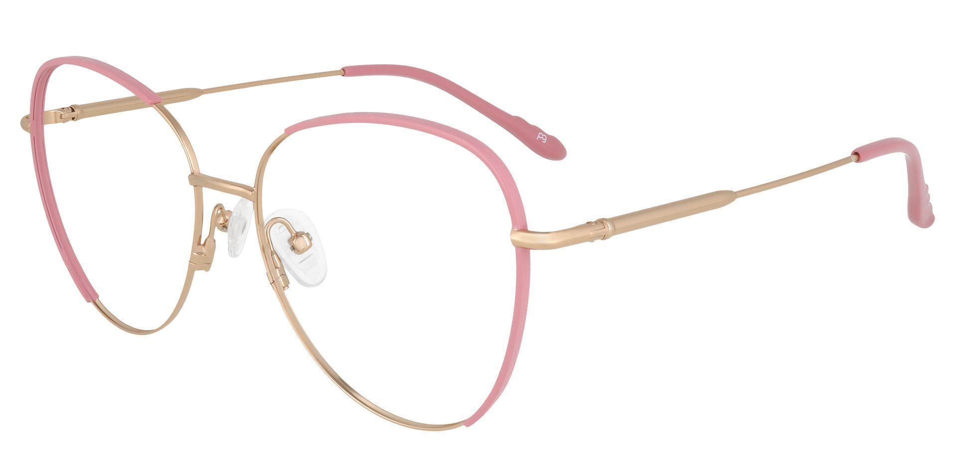 Pippi Cat Eye Prescription Glasses - Pink