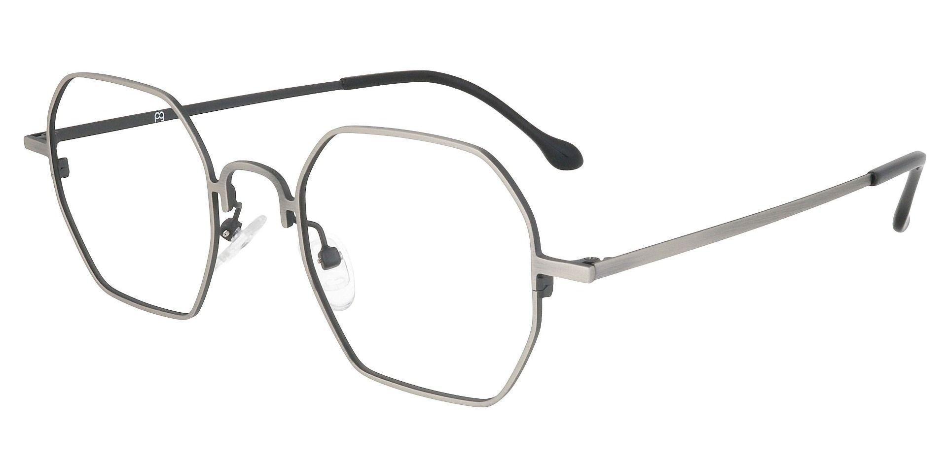 Easton Geometric Prescription Glasses - White