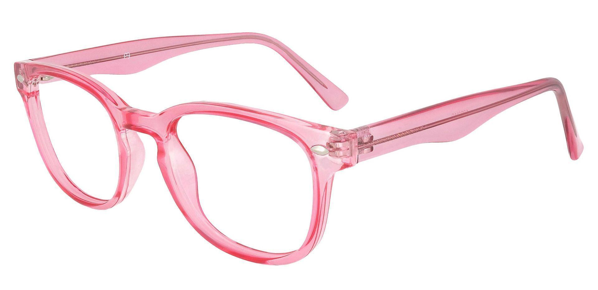 Swirl Classic Square Lined Bifocal Glasses - Pink