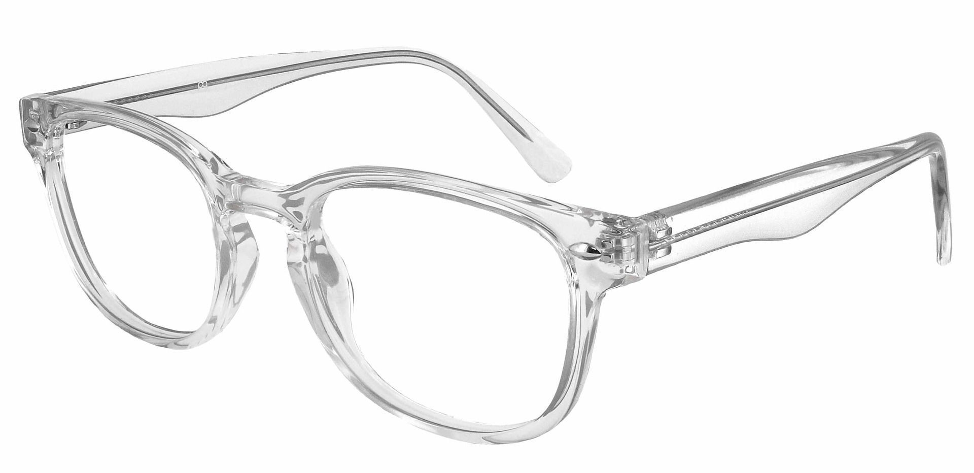 Swirl Classic Square Progressive Glasses - Clear