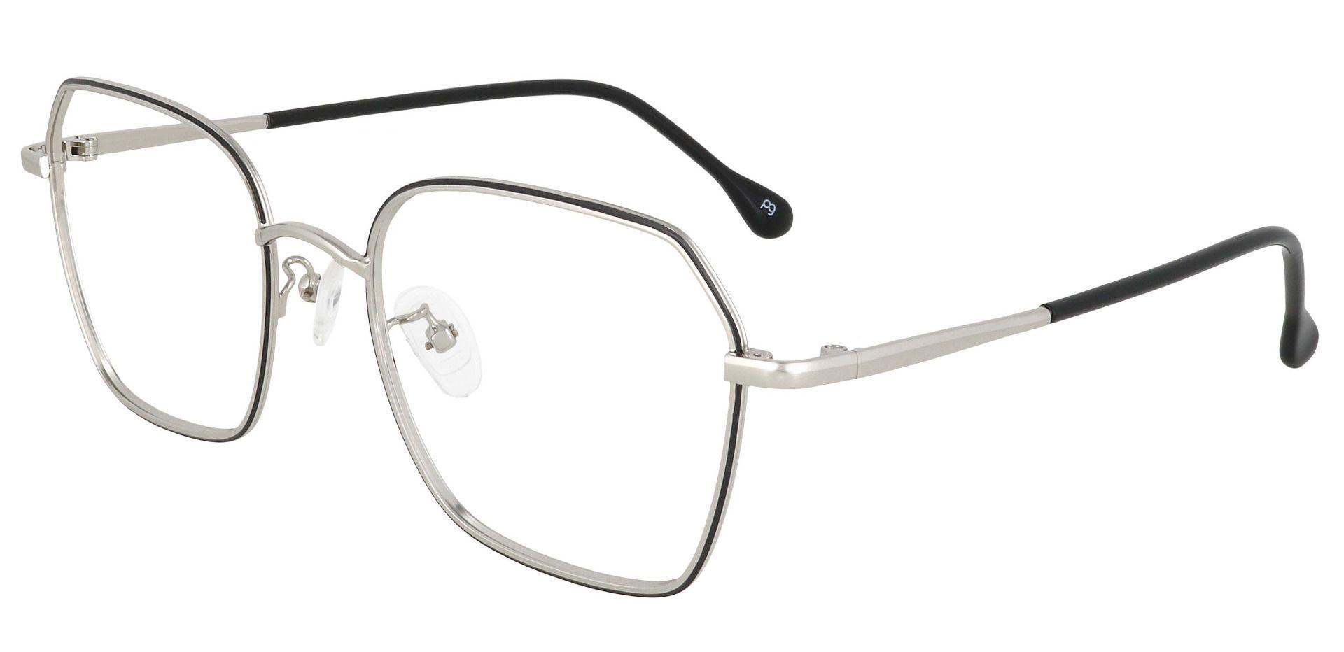 Charlotte Square Prescription Glasses - Black