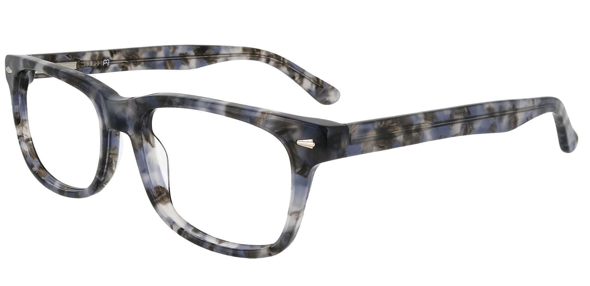 Hendrix Rectangle Prescription Glasses - Floral