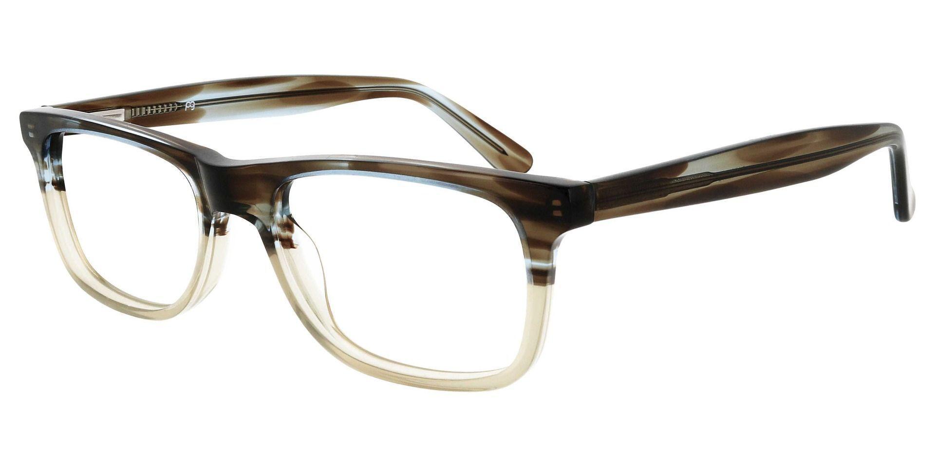 Denali Rectangle Prescription Glasses - Multi Color