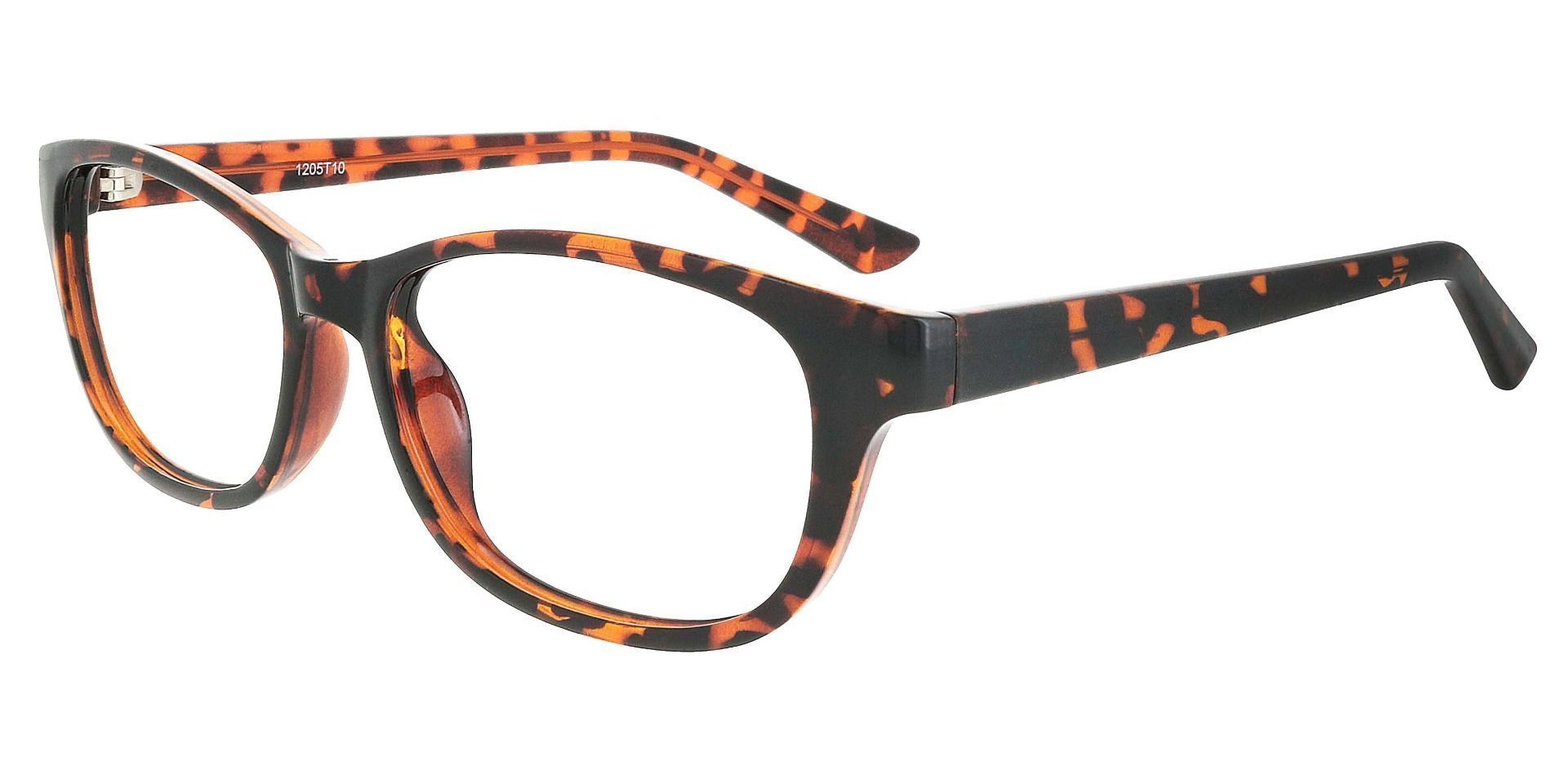 Reyna Classic Square Reading Glasses - Tortoise
