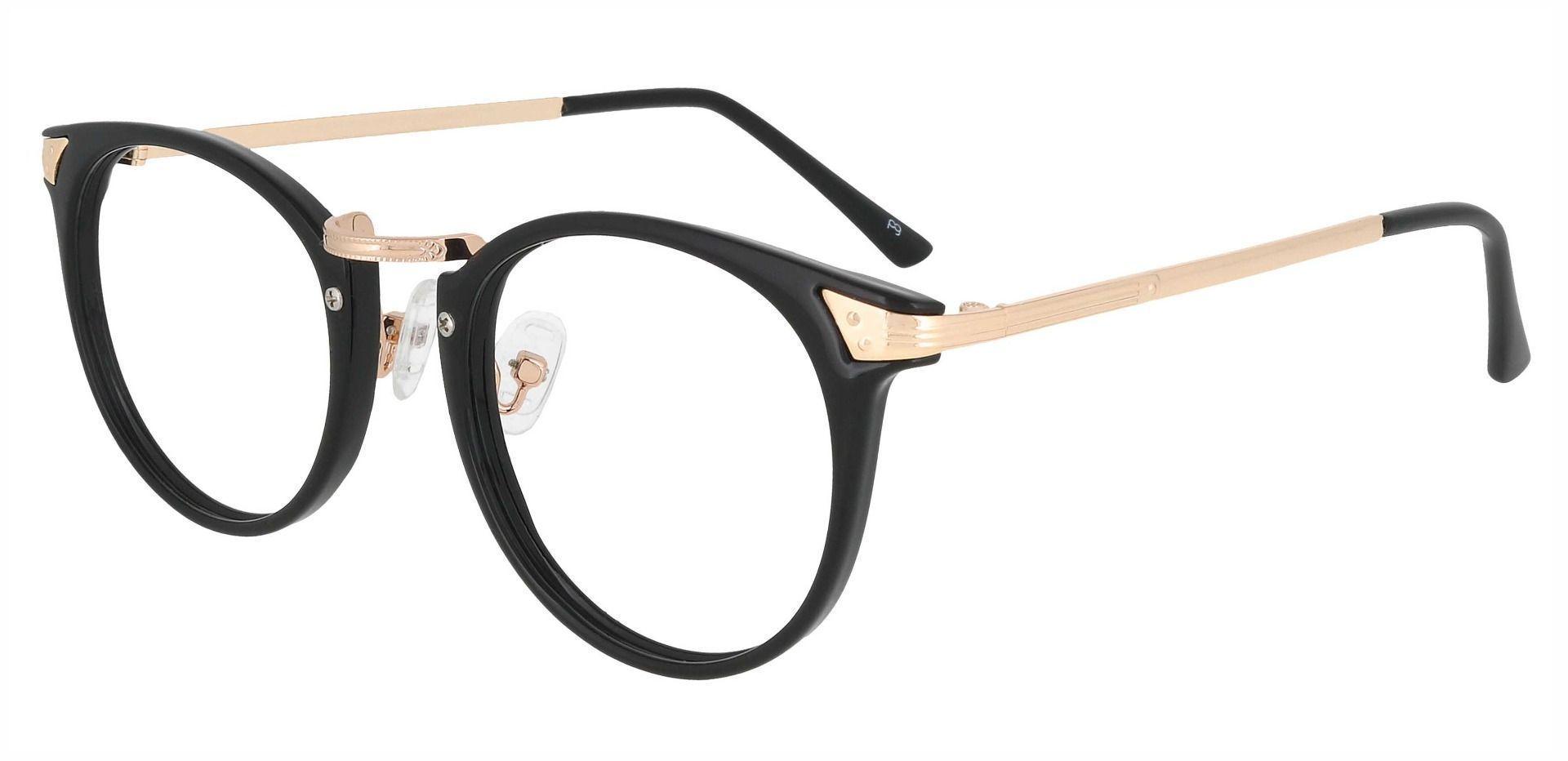 Blackwell Round Prescription Glasses - Black