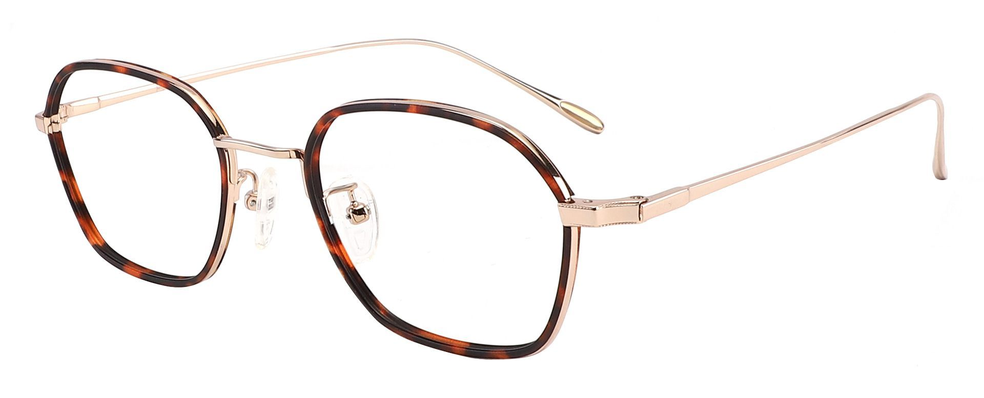 Columbia Geometric Prescription Glasses - Tortoise