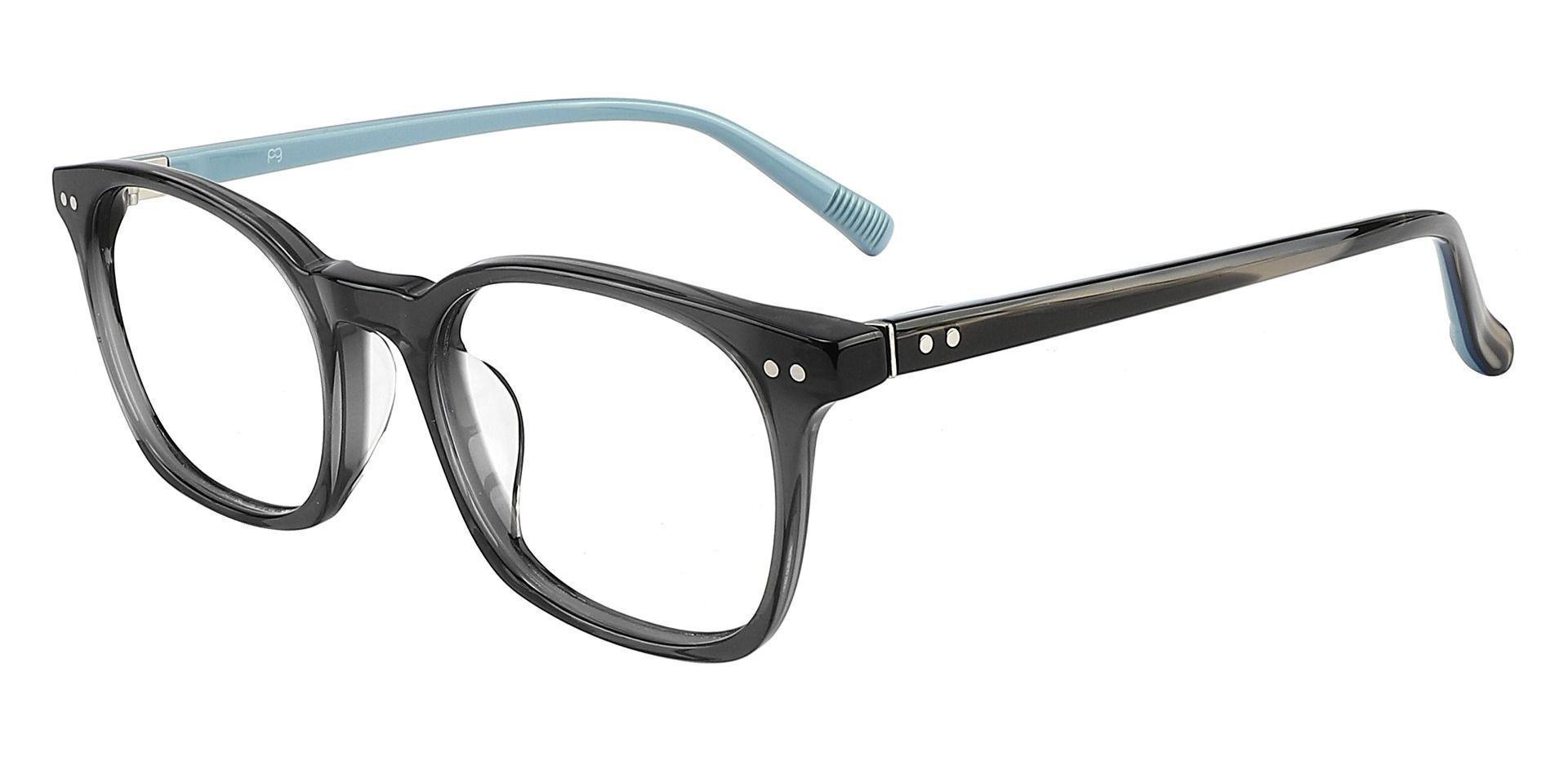 Alonzo Square Prescription Glasses - Gray