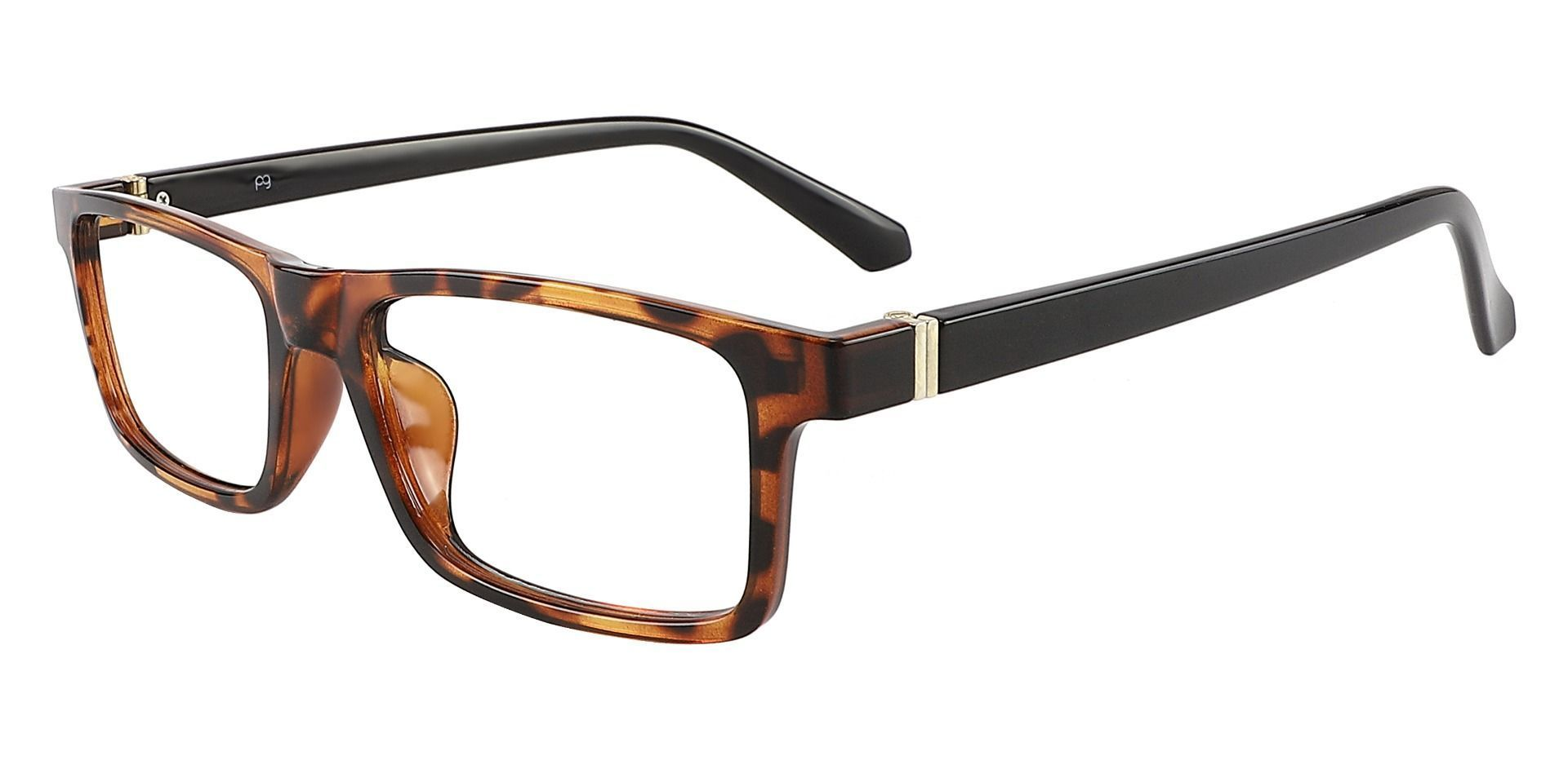 Inman Rectangle Prescription Glasses - Tortoise
