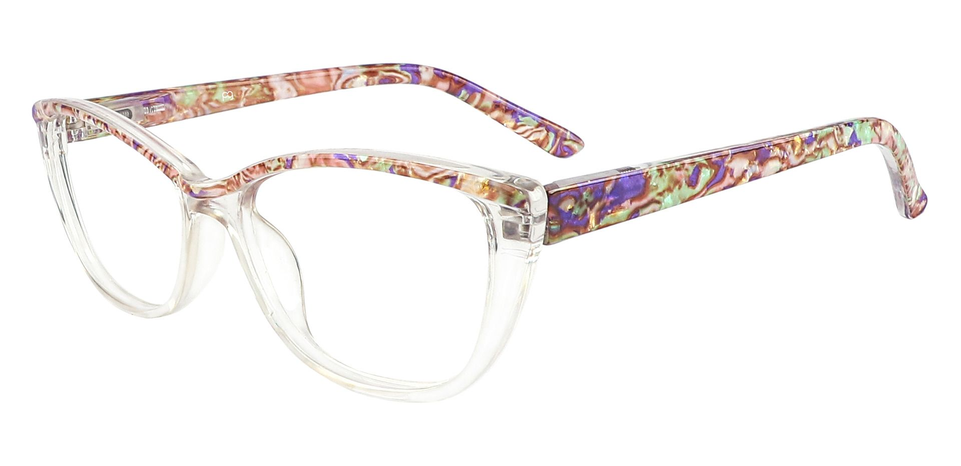 Florence Cat Eye Prescription Glasses - Floral