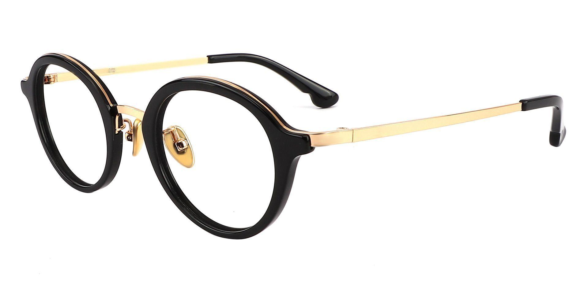 Humphrey Oval Prescription Glasses - Black