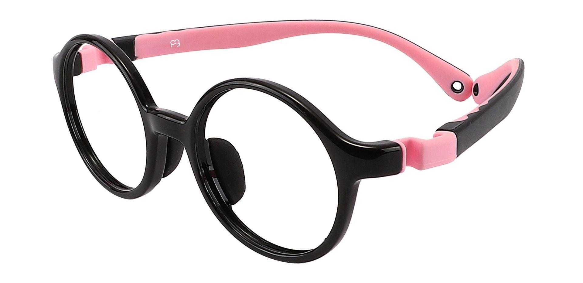 Sammy Round Prescription Glasses - Black