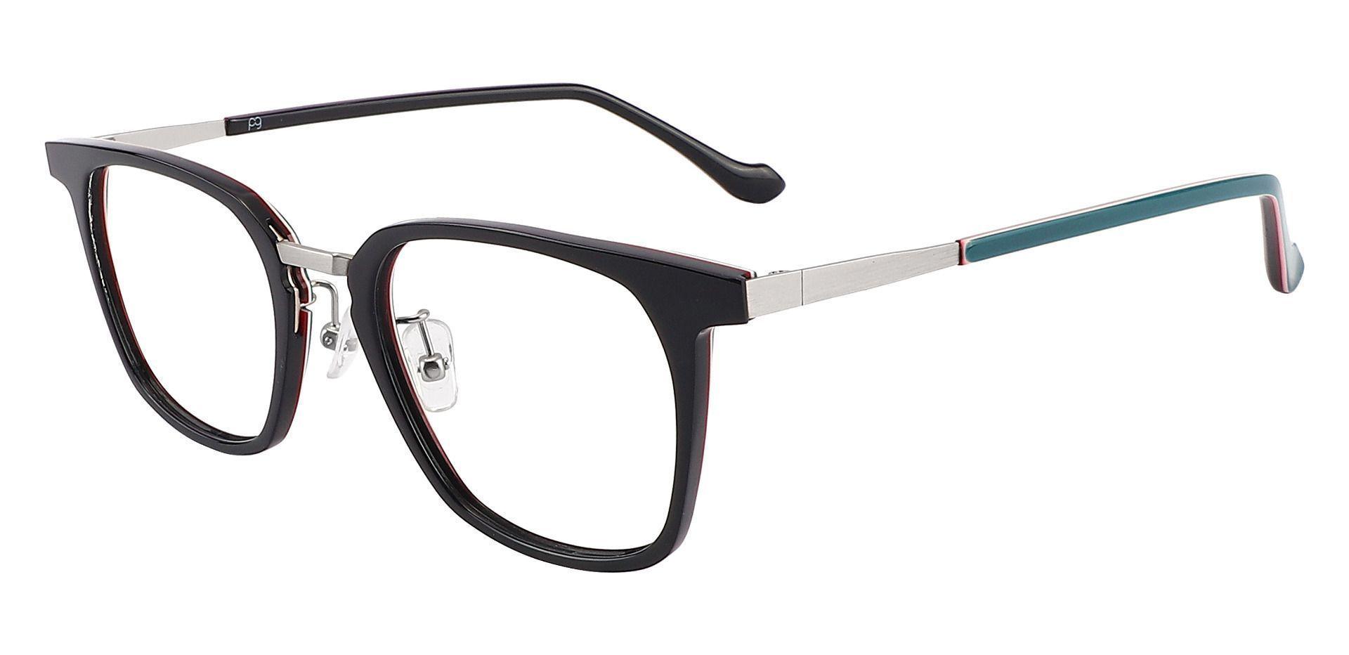 Rex Square Prescription Glasses - Black