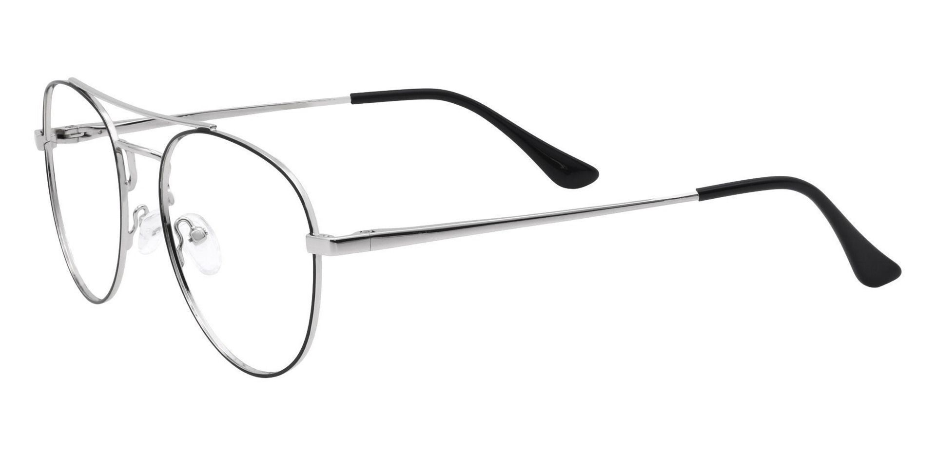 Trapp Aviator Prescription Glasses - Gray