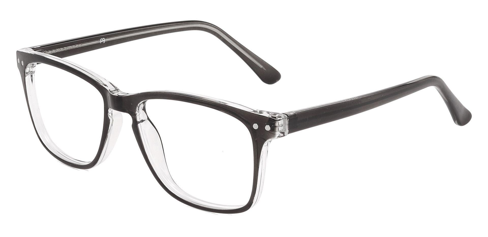 Hope Oval Lined Bifocal Glasses - Black