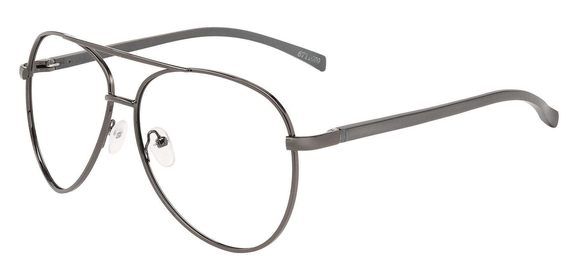 Marius Aviator Single Vision Glasses - Gray