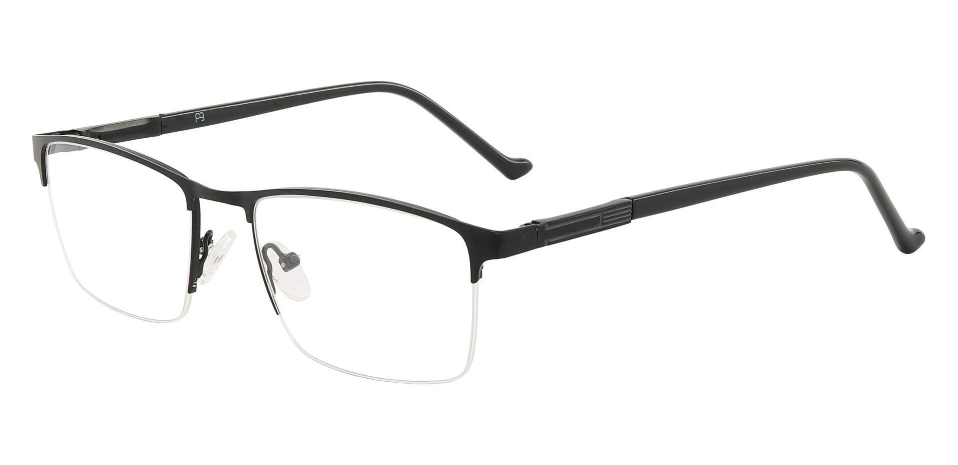 Arbor Rectangle Prescription Glasses - Black