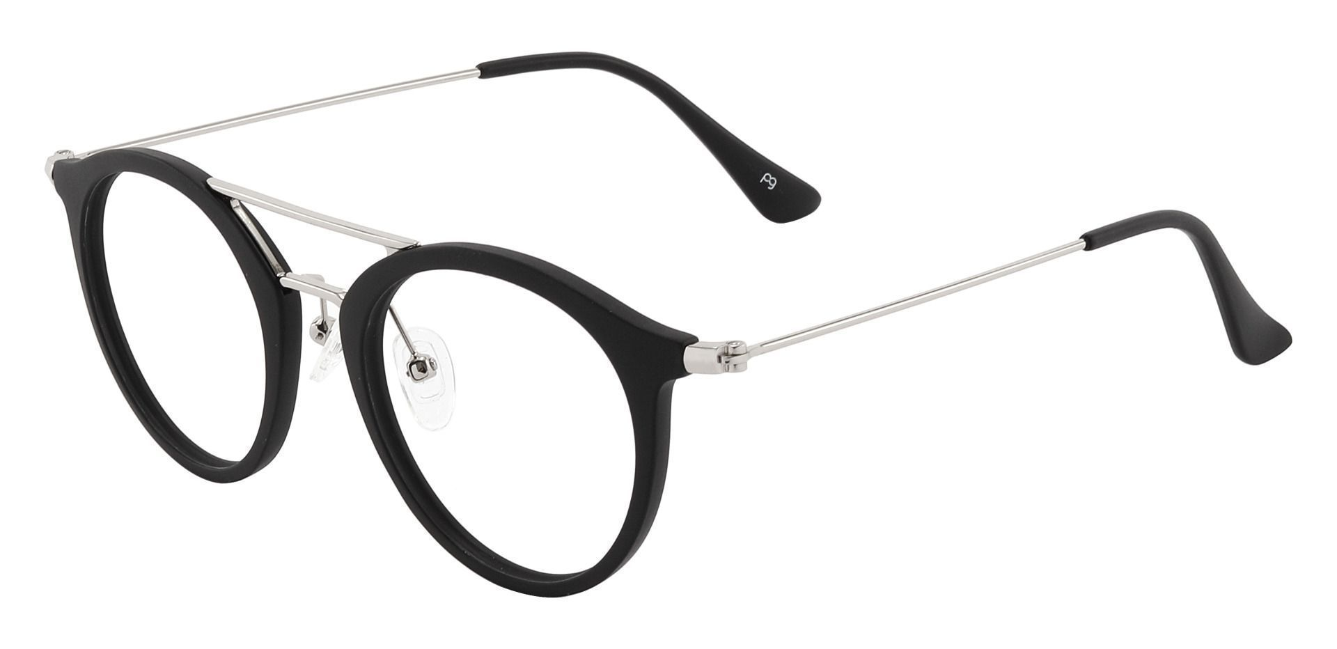 Malden Aviator Prescription Glasses - Black