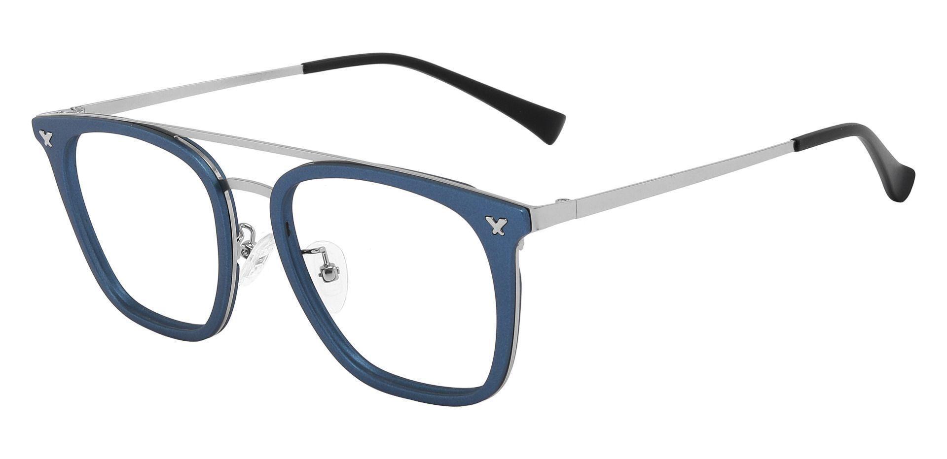 Francois Aviator Prescription Glasses - Blue