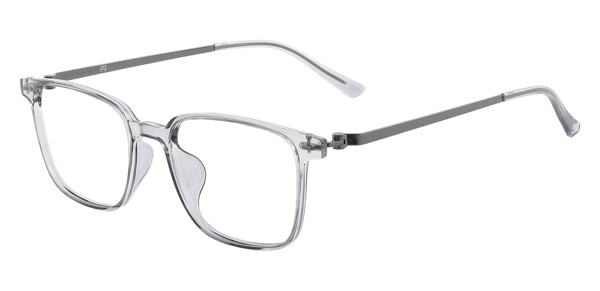 Luz Square Prescription Glasses - Gray