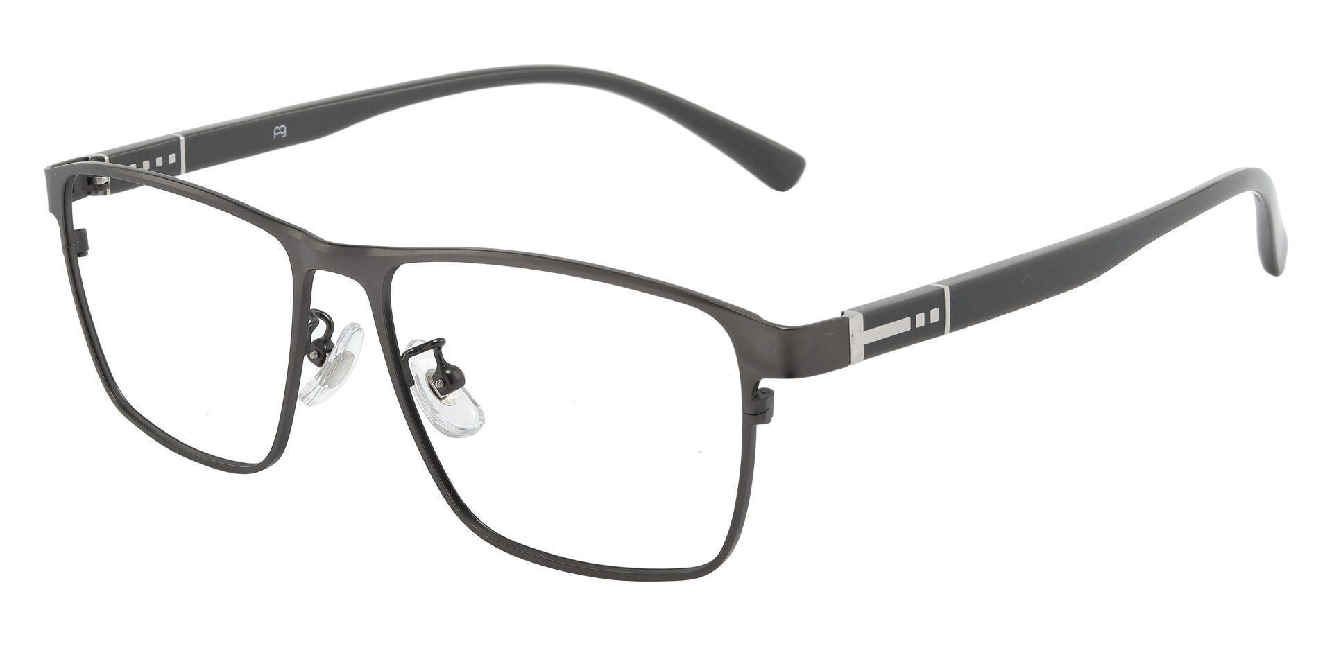 Mojave Square Prescription Glasses - Gray