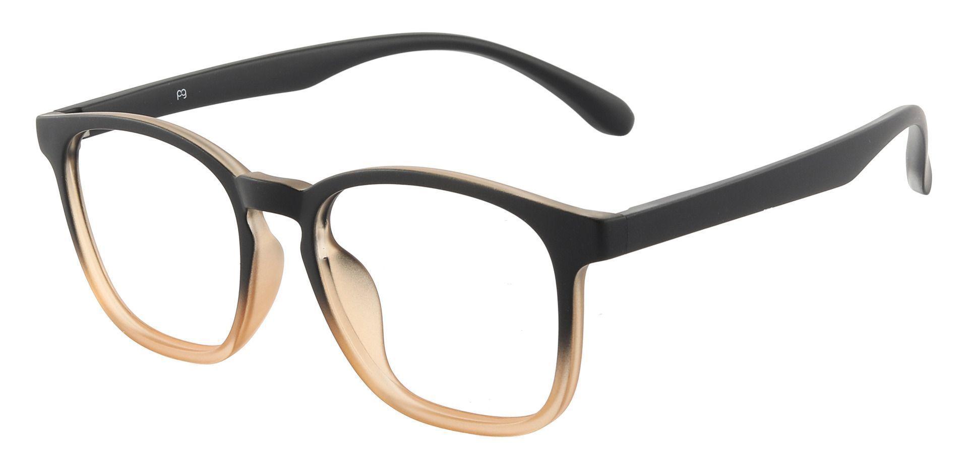 Gateway Square Prescription Glasses - Brown